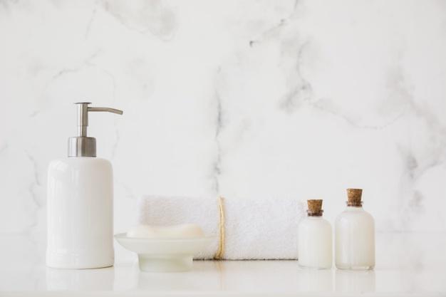 personlige badeværelsestilbehør
